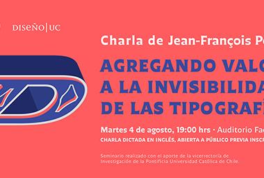 Charla gratuita del Tipógrafo francés Jean-François Porchez